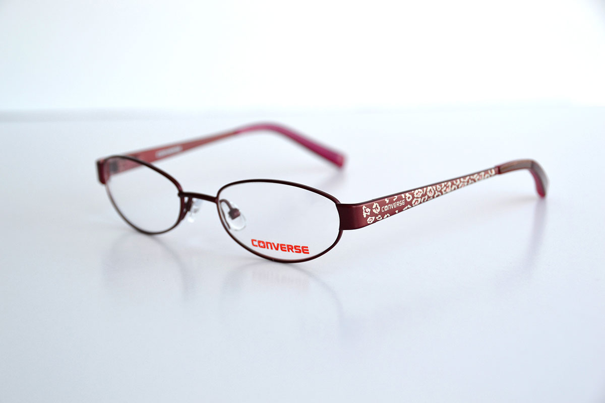 Red Girl's Converse Frames