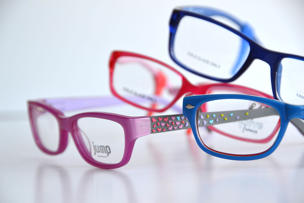 Glasses Frame Selector Tool : Red Girl s Converse Frames Michael N Charlton Optometrists
