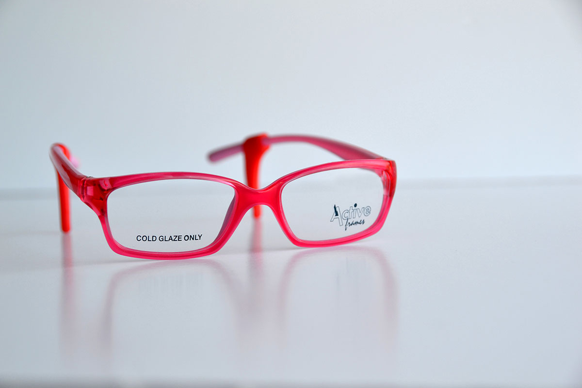 Children's Red Frames