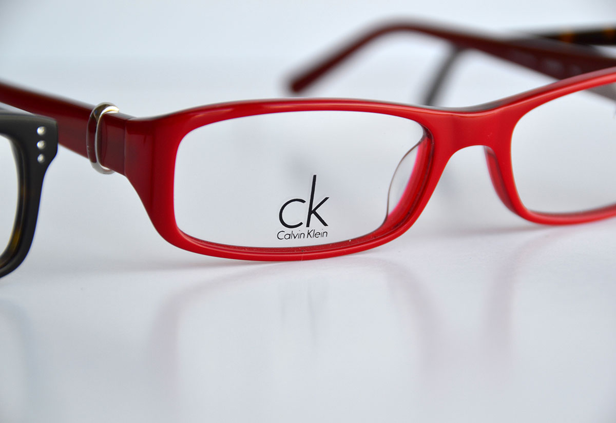 Calvin Klein – Red Frames
