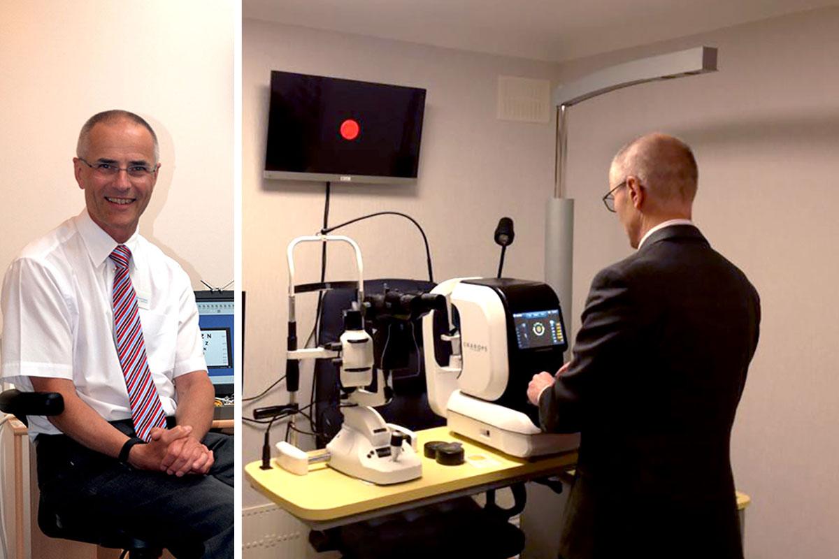 Michael Charlton BSc (Hons), FCOptom, Optometrist