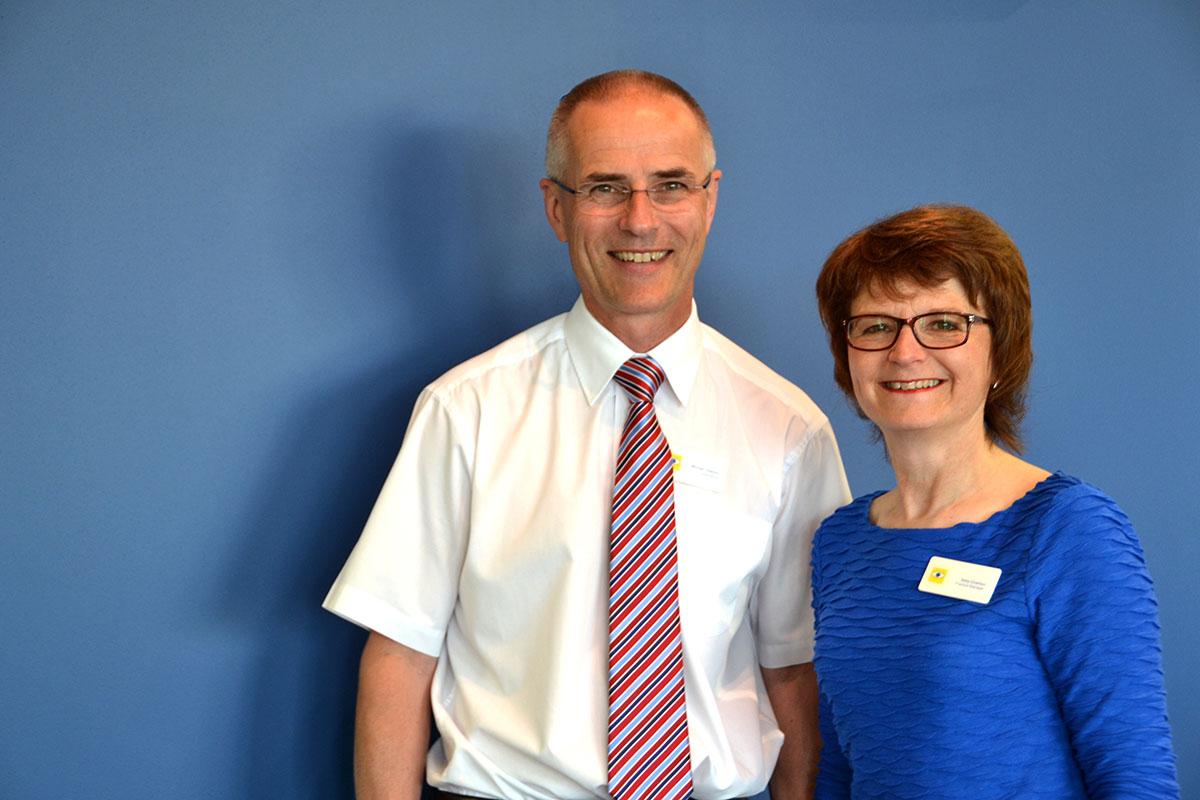 Michael and Sally Charlton