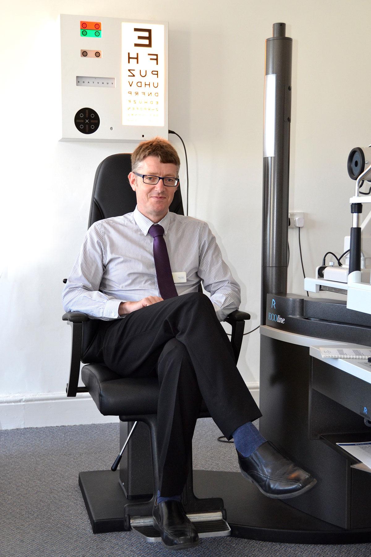 Robin Baker BSc (Hons), MCOptom, Optometrist