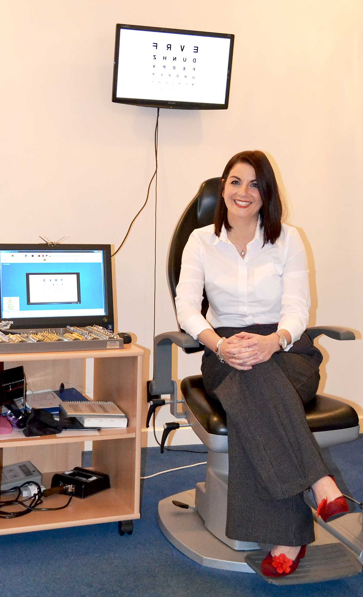 Rhian Mileham BSc Hons MCOptom, Optometrist