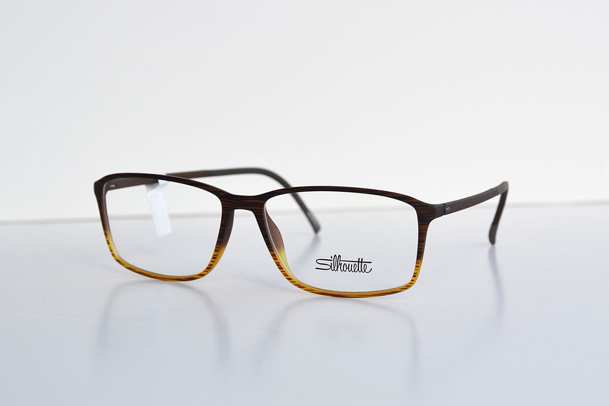 Silhouette two tone brown